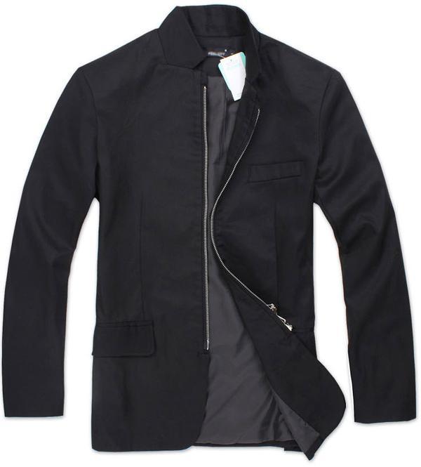 男士夹克修身立领外套