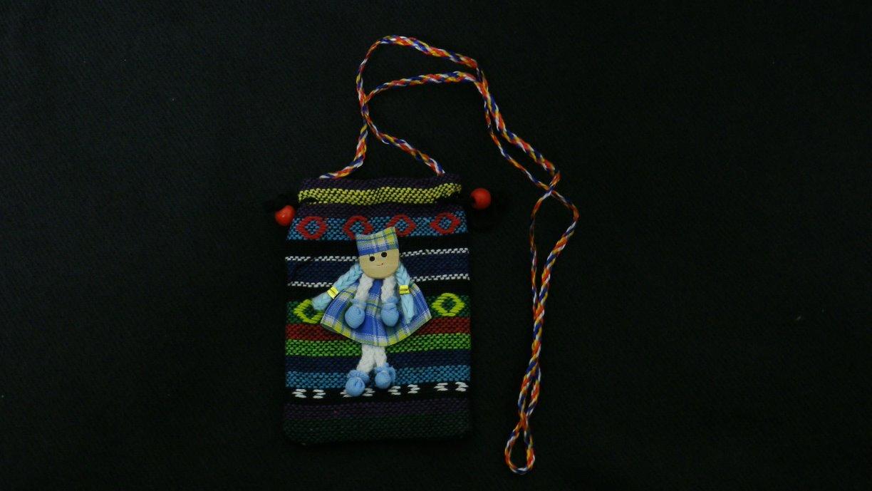 可爱小女孩娃娃造型手机袋