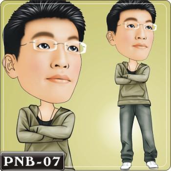 男生人像q版漫画pnb-07