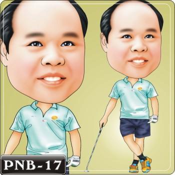 男生人像q版漫画pnb-17