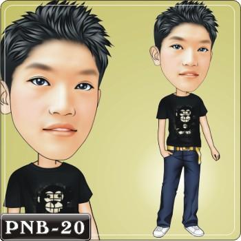 男生人像q版漫画pnb-20