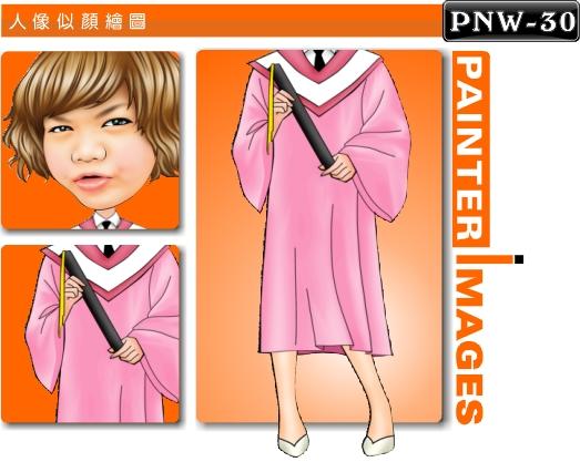 女生q版绘图pnw-30
