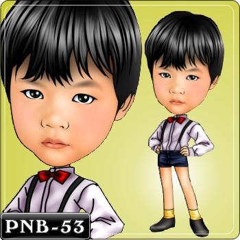 男生人像q版漫画pnb-53
