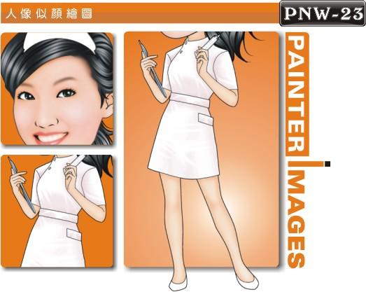 女生人像q版漫画 /      q版漫画是非常有个性化的个人风格,您可以